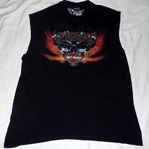Harley-Davidson Sleeveless T Shirt